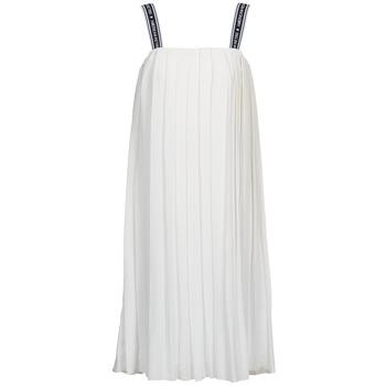 textil Dam Långklänningar American Retro VERO LONG Vit