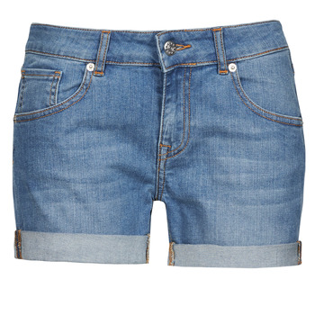 textil Dam Shorts / Bermudas Moony Mood INYUTE Blå / Ljus