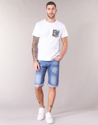 textil Herr Shorts / Bermudas Yurban IXOLAK Blå / Ljus