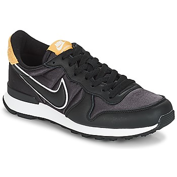Skor Dam Sneakers Nike INTERNATIONALIST HEAT Svart / Guldfärgad
