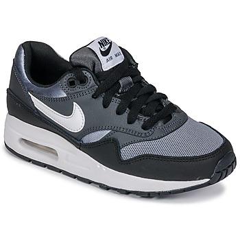 Skor Pojkar Sneakers Nike AIR MAX 1 GRADE SCHOOL Svart / Grå