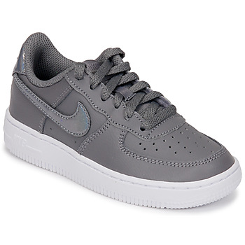 timeless design 5a112 e9ce3 Skor Flickor Sneakers Nike AIR FORCE 1 PRE-SCHOOL Grå   Silver