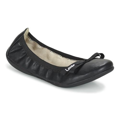 Skor Dam Ballerinor LPB Shoes ELLA Svart