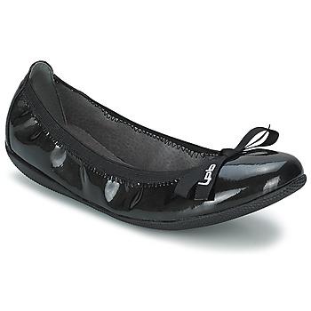 Skor Dam Ballerinor LPB Shoes ELLA VERNIS Svart