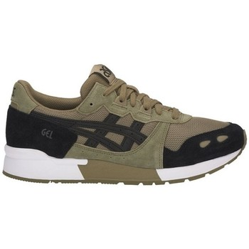 Skor Herr Sneakers Asics Gellyte Svarta, Gröna, Oliv