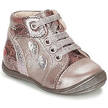 Skor Flickor Höga sneakers GBB ROSEMARIE Rosa
