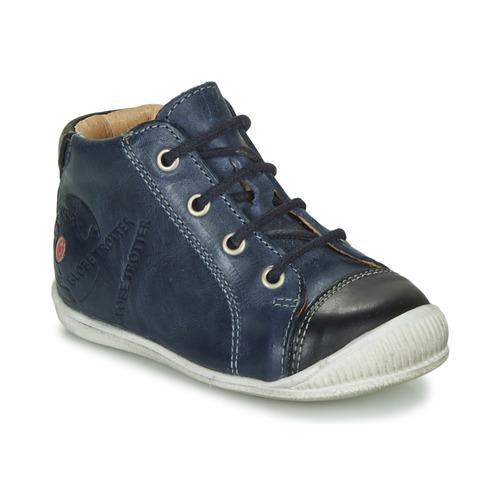 Skor Pojkar Boots GBB NOE Marin