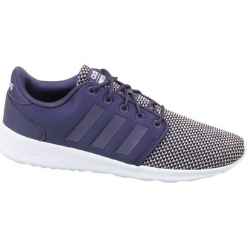 Skor Dam Sneakers adidas Originals CF QT Racer W Vit,Svarta,Blå