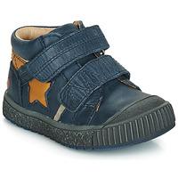 Skor Pojk Sneakers GBB RADIS Marin-ockra