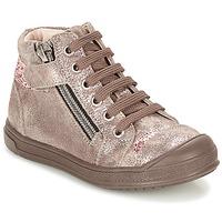 Skor Flick Höga sneakers GBB DESTINY Mullvadsfärgad / Rosa