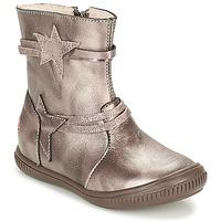 Skor Flickor Boots GBB NOTTE Mullvadsfärgad / Brons