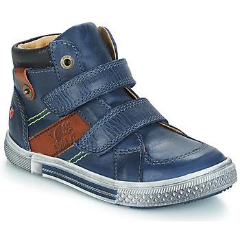 Skor Pojkar Boots GBB RENDALL Marin / Brun
