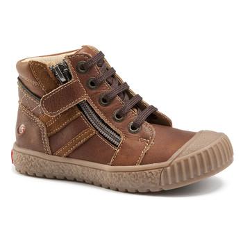 Skor Pojk Höga sneakers GBB RAMBOUTAN Brun