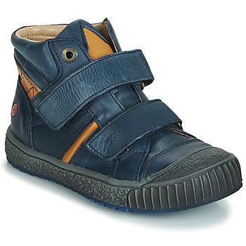new product a35e2 66e3c Skor Pojkar Höga sneakers GBB RAIFORT Marin   Okrafärgad