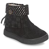 Skor Flick Boots Catimini PERETTE Svart / Silverfärgad