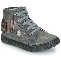 Skor Flickor Höga sneakers Catimini LOULOU GrÅ marmor / Rosa