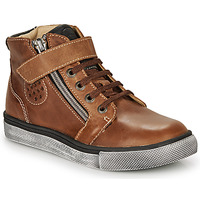 Skor Pojkar Höga sneakers Catimini TOBBY Brun