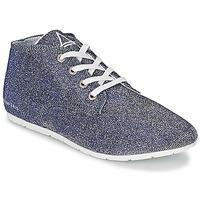 Skor Dam Sneakers Eleven Paris BASGLITTER Silverfärgad