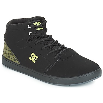 Skor Barn Höga sneakers DC Shoes CRISIS HIGH SE B SHOE BK9 Svart / Grön