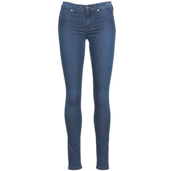textil Dam Stuprörsjeans 7 for all Mankind SKINNY DENIM DELIGHT Blå