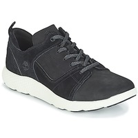 Skor Herr Höga sneakers Timberland FlyRoam Leather Oxford Svart