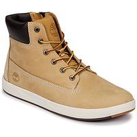 Skor Barn Höga sneakers Timberland Davis Square 6 Inch Boot Brun