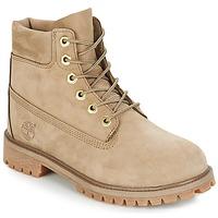 Skor Barn Boots Timberland 6 In Premium WP Boot Beige