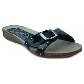 Skor Dam Sandaler Vienty BIO PLANO CHAROL NEGRO