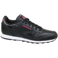Skor Barn Sneakers Reebok Sport CL Leather Girl Squad Svarta