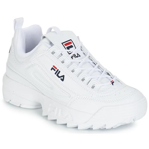 9f0c0113132 Fila DISRUPTOR LOW Vit - Fri frakt | Spartoo.se ! - Skor Sneakers ...