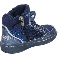Skor Flickor Sneakers Betty Boop sneakers blu glitter camoscio AC02 Blu