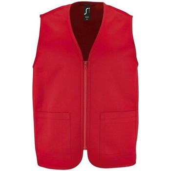 textil Jackor Sols WALLACE WORK UNISEX Rojo