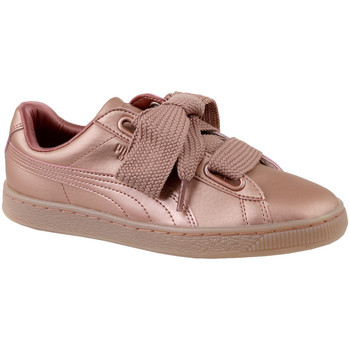 Skor Dam Sneakers Puma Basket Heart Copper 365463-01