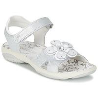 Skor Flick Sandaler Primigi LINA Vit / Silverfärgad