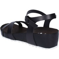 Skor Dam Sandaler 5 Pro Ject sandali nero pelle bianco AC700 Nero