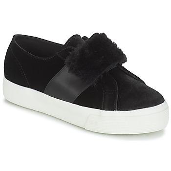 Skor Dam Sneakers Superga 2750-LEAPATENTW Svart