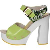 Skor Dam Sandaler Suky Brand AC811 Grön