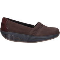Skor Dam Loafers Mbt Sneakers AC906 Brun