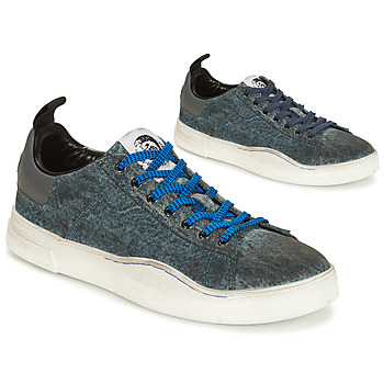 Skor Herr Sneakers Diesel S-CLEVER LOW Denim