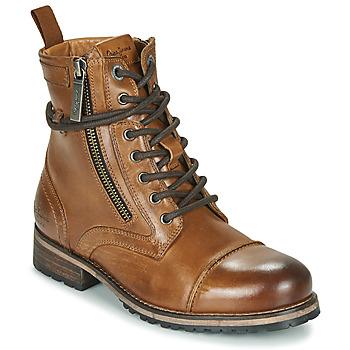 Skor Dam Boots Pepe jeans Melting Brun