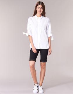 textil Dam Shorts / Bermudas Freeman T.Porter BELIXA Svart