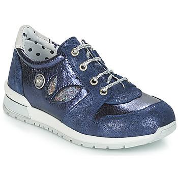 Skor Flickor Sneakers Catimini CHOCHOTTE Blå