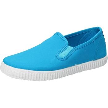 Skor Pojkar Slip-on-skor Cienta Sneakers AD780 Turkos