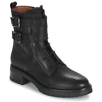 Skor Dam Boots Ikks REGNAUT Svart