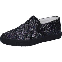 Skor Flickor Slip-on-skor Date Sneakers AD836 Svart