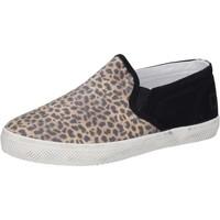 Skor Flickor Slip-on-skor Date Sneakers AD837 Svart