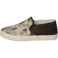 Skor Pojkar Slip-on-skor Date Sneakers AD846 grön