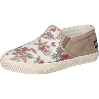 Skor Flickor Slip-on-skor Date Sneakers AD848 Vit