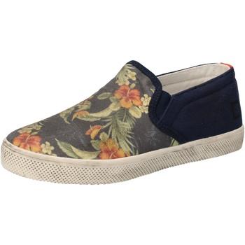 Skor Flickor Slip-on-skor Date Sneakers AD858 Blå