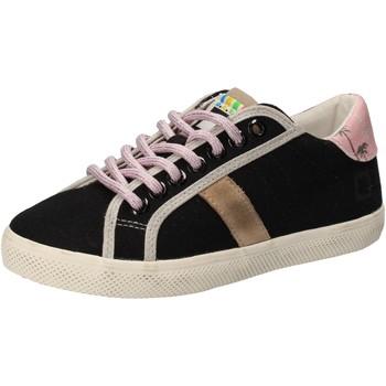 Skor Flickor Sneakers Date Sneakers AD859 Svart